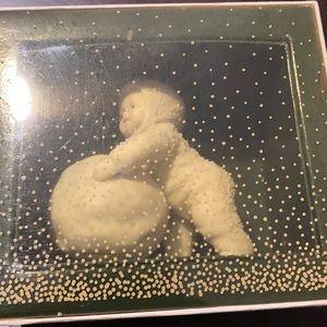 Snow babies figurine